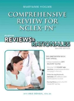 Pearson Comprehensive Review for NCLEX-PN: Pearson Reviews & Rationales (Paperback)