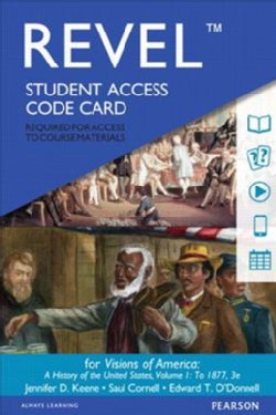 Revel for Visions of America Access Card: A History of the United States (Other merchandise)