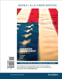 American Government, 2014 Election Edition, Books a La Carte Edition Plus Revel -- Access Card Package: 2014 Election Edition...