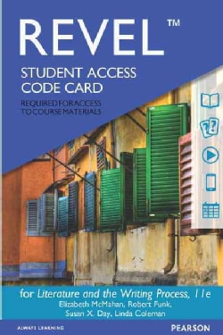 Revel for Literature and the Writing Process Access Card (Other merchandise)