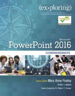 Exploring Microsoft Powerpoint 2016 Comprehensive (Paperback)