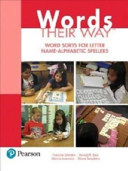 Word Sorts for Letter Name-Alphabetic Spellers (Paperback)