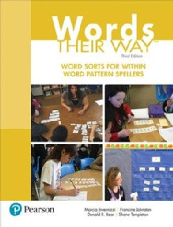 Word Sorts for Within Word Pattern Spellers (Paperback)