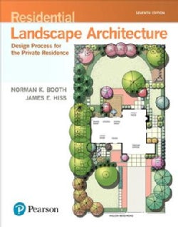 Residential Landscape Architecture: Design Process for the Private Residence (Hardcover)