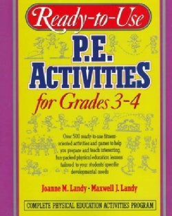 Ready-To-Use P.E. Activities for Grades 3-4 (Paperback)