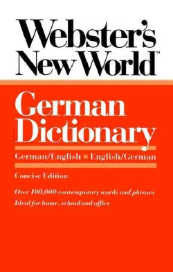 Webster's New World German Dictionary: German/English English/German (Paperback)