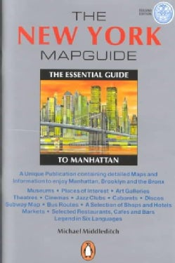 The New York Map Guide: The Essential Guide to Manhattan (Paperback)