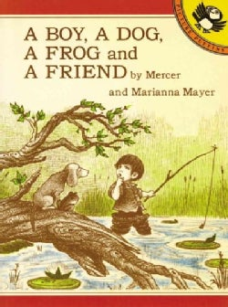 A Boy, a Dog, a Frog and a Friend (Paperback)