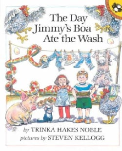 The Day Jimmy's Boa Ate the Wash (Paperback)