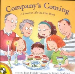 Company's Coming: A Passover Lift the Flap Book (Paperback)