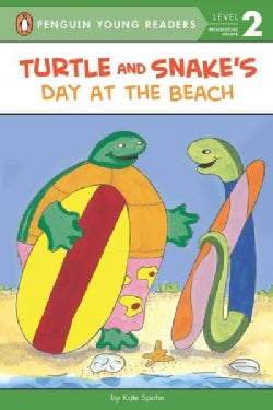 Turtle and Snake's Day at the Beach (Paperback)