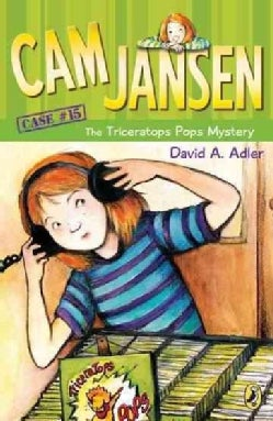 Cam Jansen and the Triceratops Pops Mystery (Paperback)