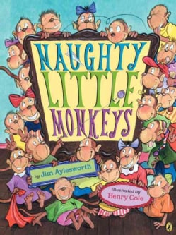 Naughty Little Monkeys (Paperback)