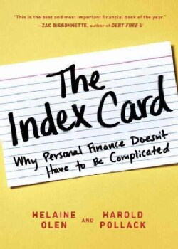 The Index Card: Why Personal Finance Doesn't Have to Be Complicated (Paperback)