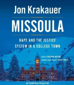 Missoula: Rape and the Justice System in a College Town (CD-Audio)