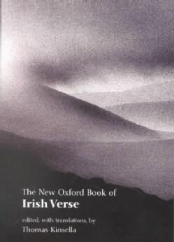 The New Oxford Book of Irish Verse (Paperback)