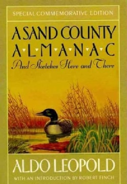 A Sand County Almanac and Sketches Here and There (Paperback)