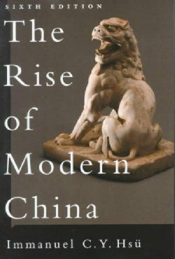 The Rise of Modern China (Paperback)