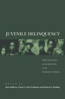 Juvenile Delinquency: Prevention, Assessment, And Intervention (Hardcover)