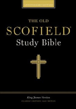 The Old Scofield Study Bible: King James Version, Black Bonded Leather ,classic Edition (Paperback)