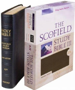 The Scofield Study Bible: King James Version, Black Bonded Leather (Hardcover)