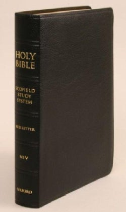 The Scofield Study Bible: New International Version, Black Bonded Leather (Paperback)