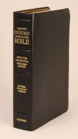 New Oxford Annotated Bible With the Apocrypha (Paperback)