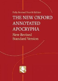 The New Oxford Annotated Apocrypha: New Revised Standard Version (Hardcover)