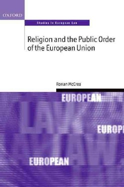 Religion and the Public Order of the European Union (Paperback)