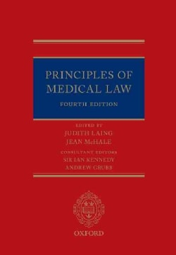 Principles of Medical Law (Hardcover)