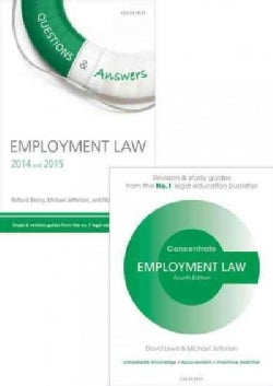 Employment Law Revision Pack 2014: Law Revision and Study Guide (Paperback)