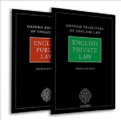 Oxford Principles of English Law: English Private Law and English Public Law, 2nd Ed. (Hardcover)