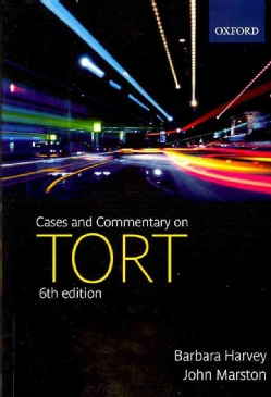 Cases and Commentary on Tort (Paperback)