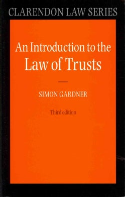 An Introduction to the Law of Trusts (Paperback)