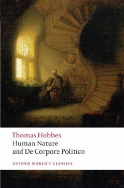 Human Nature and De Corpore Politico (Paperback)