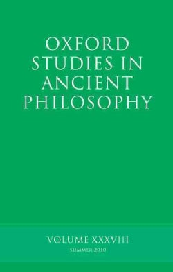 Oxford Studies in Ancient Philosophy (Paperback)
