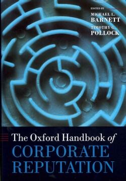 The Oxford Handbook of Corporate Reputation (Hardcover)