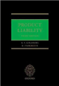 Product Liability (Hardcover)