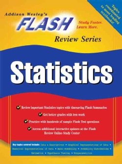 Flash Review for Statistics (Paperback)