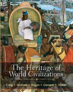 The Heritage of World Civilizations: Combined Volume (Paperback)