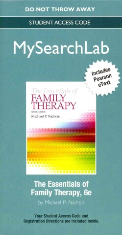 The Essentials of Family Therapy MySearchLab Access Code: Includes Pearson Etext (Other merchandise)