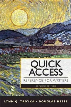 Quick Access: Reference for Writers (Paperback)