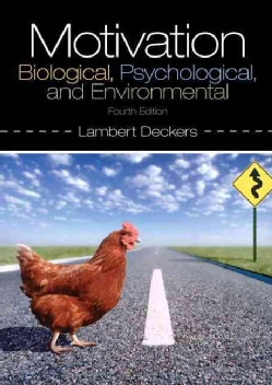 Motivation: Biological, Psychological, and Environmental (Paperback)