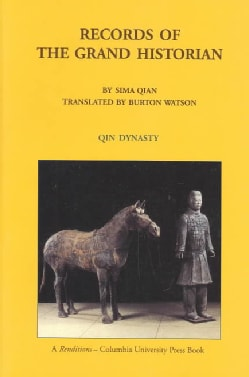 Records of the Grand Historian: Qin Dynasty (Paperback)