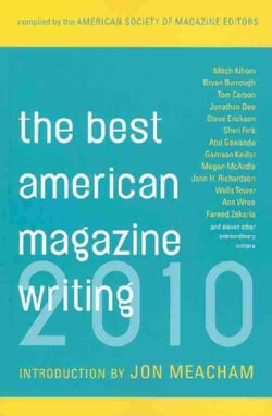 The Best American Magazine Writing 2010 (Paperback)