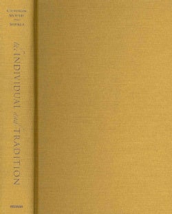 The Individual and Tradition: Folkloristic Perspectives (Hardcover)
