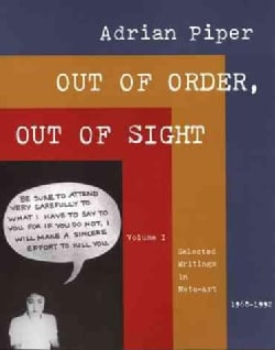 Out of Order, Out of Sight: Selected Writings in Meta-Art 1968-1992 (Paperback)