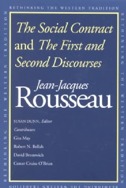 The Social Contract and the First and Second Discourses: And, the First and Second Discourses (Paperback)