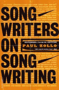 Songwriters on Songwriting (Paperback)