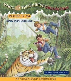 Magic Tree House Collection Books 17-24: Tonight on the Titanic/Buffalo Before Breakfast/Tigers at Twilight/Dingoe... (CD-Audio)